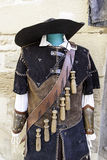Musketeer old suit Royalty Free Stock Image