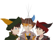 Musketeer vector Stock Photo