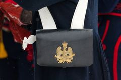 Musketeers bag Royalty Free Stock Image