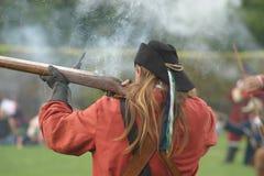 Musketier Lizenzfreie Stockfotos
