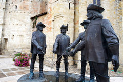 musketiere Stockbild