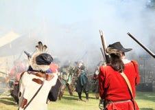 musketiers stock foto