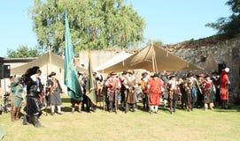 musketiers stock afbeelding
