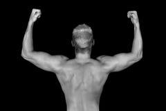 muskler royaltyfria bilder