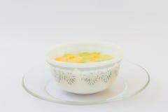 Muskmelon με το γάλα καρύδων Στοκ φωτογραφίες με δικαίωμα ελεύθερης χρήσης