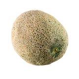 Muskmelon  cantaloupe melon isolated on white background Royalty Free Stock Photo