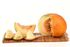 Muskmelon. Royalty Free Stock Image