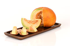 Muskmelon. Royalty Free Stock Photos