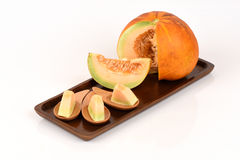 Muskmelon. Royalty Free Stock Photography