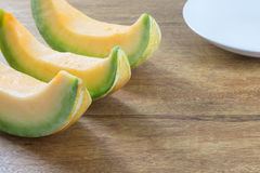 Muskmelon Royalty Free Stock Photo