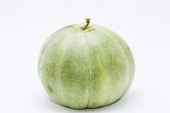 Muskmelon in white background Stock Image