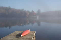 muskoka утра стоковое фото rf