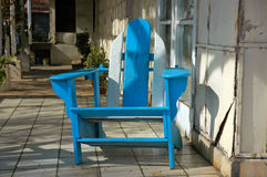Muskoka/Adirondack Chair Stock Images