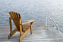Muskoka Chair Royalty Free Stock Photos