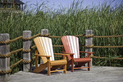 Muskoka Chairs Stock Image