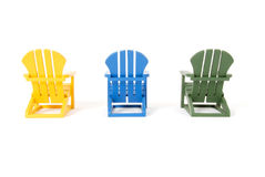 Muskoka Chairs Royalty Free Stock Photo