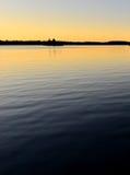 Muskoka lake. A photo of the muskoka lake when sunset Stock Photography