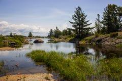 Muskoka landskap Fotografering för Bildbyråer