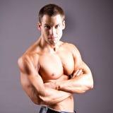 Muskulös man Royaltyfria Foton