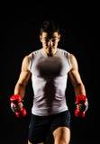 Muskulös man Royaltyfri Fotografi
