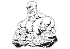 Muskulösa armar Royaltyfri Fotografi