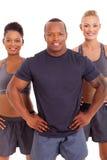 Muskulösa mankvinnor Royaltyfria Bilder