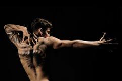 Muskulöser junger Mann Stockbilder
