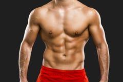 Muskulöser Mann Stockfotografie