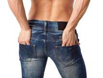 Muskulöst kvinnligt förkroppsligar Arkivfoton