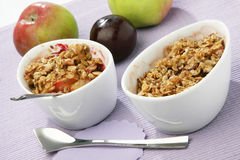 Musli with fruits Royalty Free Stock Image