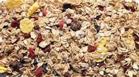 Musli and seeds texture Stock Photo