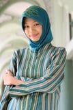 muslim девушки стоковая фотография rf