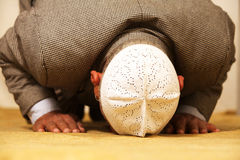 Muslim. Old man Asian muslim prayer stock photos