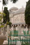 Muslim ancient cemetery Royalty Free Stock Images