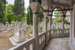 Muslim ancient cemetery Royalty Free Stock Photography