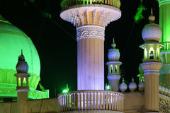Muslim (Arab) Mosque, Kovalam, Kerala Royalty Free Stock Image