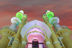 Muslim (Arab) Mosque, Kovalam, Kerala, India Stock Photos