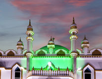 Muslim (Arab) Mosque, Kovalam, Kerala, India Royalty Free Stock Photos