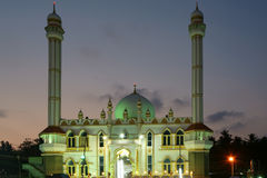 Muslim (Arab) Mosque, Kovalam, Kerala, South India Royalty Free Stock Photos