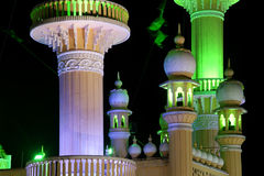 Muslim (Arab) Mosque, Kovalam, Kerala, South India Stock Photo