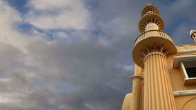 Muslim (Arab) Mosque, Kovalam, Kerala, South India stock video