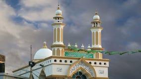 Muslim (Arab) Mosque, Kovalam, Kerala, South India stock video footage