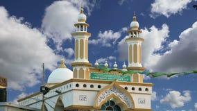 Muslim Arab Mosque, Kovalam, Kerala, South India stock video footage