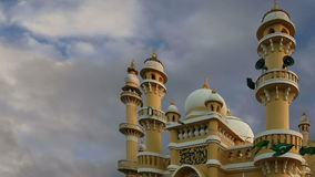 Muslim Arab Mosque, Kovalam, Kerala, South India stock video