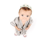 Muslim arabic little cute boy Royalty Free Stock Photo
