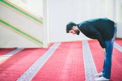 Muslim Arabic man praying Royalty Free Stock Image