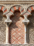 Muslim art at the Mosque of Cordoba Royalty Free Stock Images