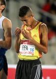 Muslim athlete Ilias Fifa of Morocco Royalty Free Stock Images