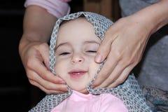 Muslim baby girl Stock Photography