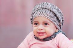Muslim baby girl Royalty Free Stock Photography